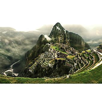 Behang muurschildering Machu Picchu