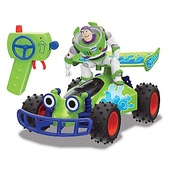 Disney Toy Story 4 RC Buggy con Buzz Lightyear Remote Control Toy