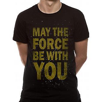 מלחמת הכוכבים יוניסקס מבוגרים חולצת הכוח