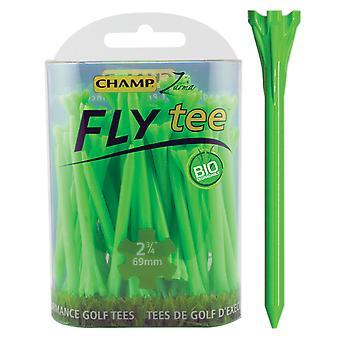 Champ Fly Tee Golf Tee 69 mm 2 3/4 Inch Green