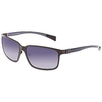 Razza Nettuno titanio e fibra di carbonio Polarized Occhiali da sole - Gunmetal/Black