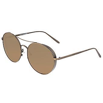 Fok Barlow Titaniumgepolariseerde zonnebril-brons/bruin