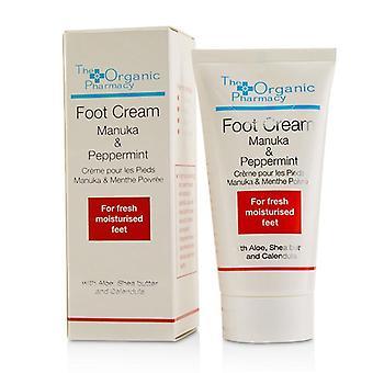 The Organic Pharmacy Manuka & Peppermint Foot Cream - 50ml/1.7oz