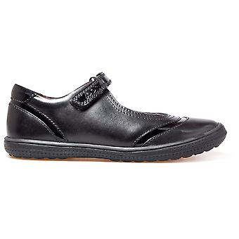 POD Girls Dana School Shoes Black