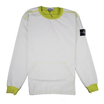 Stone Island Inside Out Le 3m Reflective Sweatshirt Yellow V0038