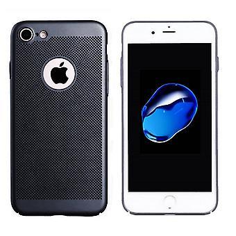 Hoes Mesh Holes voor Apple iPhone 7 Zwart