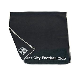 Premier Licensing Aqualock Large Mircofibre Golf Caddy Towel Manchester City