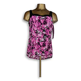 Fit 4 U Maillots de bain Square Neck Tankini Top Rose A345920