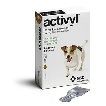 Activyl Spot-On for Small Dogs 6.6-10 kg (14-22 lbs) - 4 Pipettes