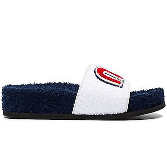 Towel Logo Slides Sandals