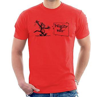Krazy Kat Wave Men's T-Shirt
