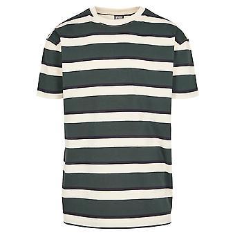 Urban Classics T-Shirt Homme Rayé de bloc surdimensionné