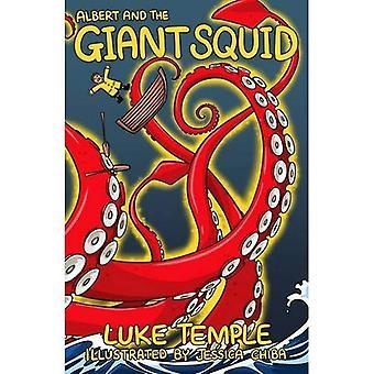 Albert en de gigantische inktvis (Luke Temple's boeken voor 5-7 jarigen)