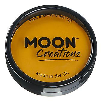 Moon Creations - Pro Face & Body Paint Cake Pots - Mustard