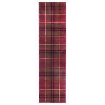 Glen Kilry matto-juoksija-punainen