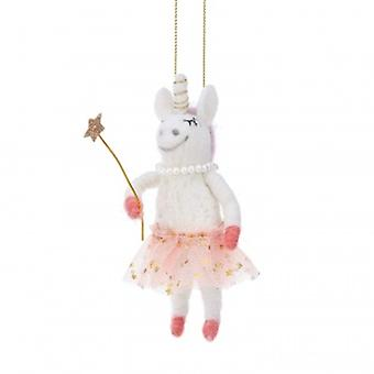 Sass & Belle Fairy Unicorn Hanging Decoration | Handpicked Gifts