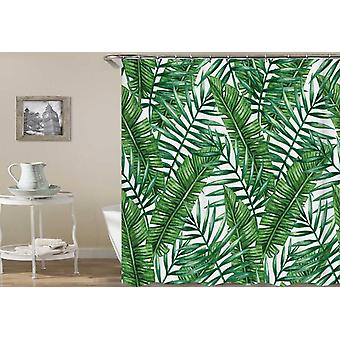 Green tropisk Leaf dusj Curtain
