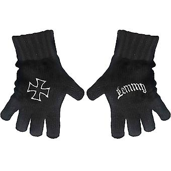 Motorhead Gloves Lemmy kilmister Logo new Official Fingerless Black
