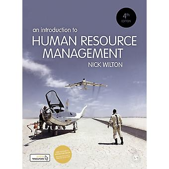 Introduction to Human Resource Management Paperback with Int by Nick Wilton