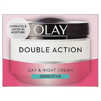 Olay Double Action Sensitive Day Cream & Primer 50ml