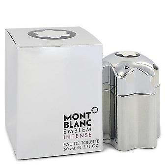 Montblanc emblem intense eau de toilette spray by mont blanc 545122 60 ml