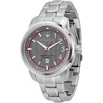 Maserati R8853137002 Men's Royale Grey Dial Wristwatch