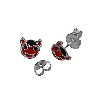 Die Olivia Collection Sterling Silver The Devil Stud Girls Earring