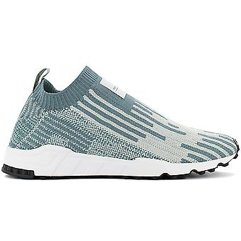 adidas EQT Support SK PK Calzino Primeknit B37525 Scarpe da uomo Green-Grey Sneaker Sports Scarpe