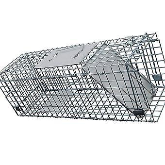 Kabalo mókus/patkány csapda Metal humánus élő féreg nagy Rovarirtás állat csali Cage catcher