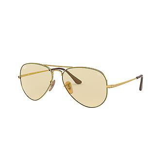 Lunettes de soleil Photochromic Ray-Ban RB3689 001/T2 Gold/Light Brown