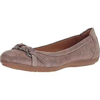 Comfortiva Women's, Maloree Slip on Flats, Silver, Maat 6.0