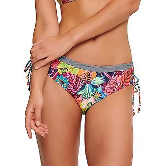 LingaDore 5102SH-204 Frauen's Abella bunte Blumendruck Bikini kurz