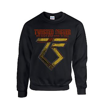 Twisted Sister You Can'T Stop Rock ́N ́ Roll Sweatshirt