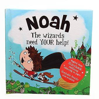 Geschichte & Heraldik magischen Namen Storybook - Noah