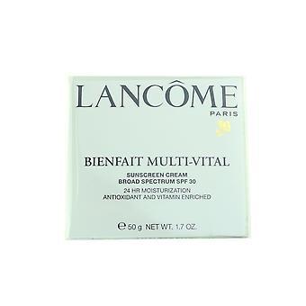 Idratazione 24h di Lancome Bienfait multi-Vital SPF30 1.7 oz/50g nuovo In scatola