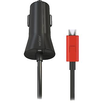 Verizon Micro USB Car Charger with Quick Charge Technology for Android Devices (Black)