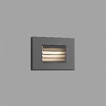 Faro Spark-2 - LED extérieure Encastré Mur Gris clair 5W 3000K IP65 - FARO70164
