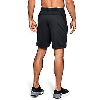 Under Armour Men's MK1 Shorts, Black (001)/Stealth Gray, X-Large