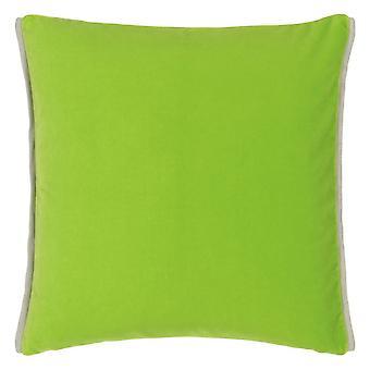 Ontwerpers Gilde Varese Plain Cushion in Apple en Leaf Green