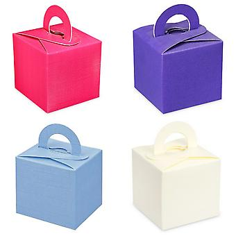 Club Green Square Gift Box With Carry Handle (Pack Of 10)