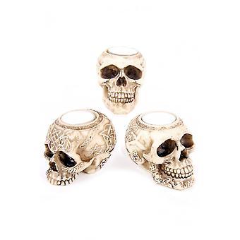 Gothic Homeware Skull Tealight Holder