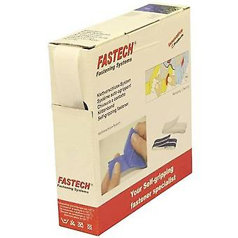 FASTECH® B25-SKL01000010 Hook-and-loop tape stick-on (hot melt adhesive) Loop pad (L x W) 10 m x 25 mm White 10 m