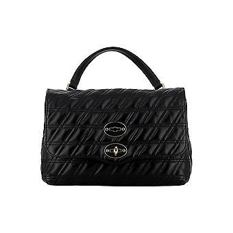 Zanellato 6120zz02 Women's Zwart Lederen Handtas