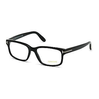 Tom Ford TF5313 001 Błyszczące czarne okulary