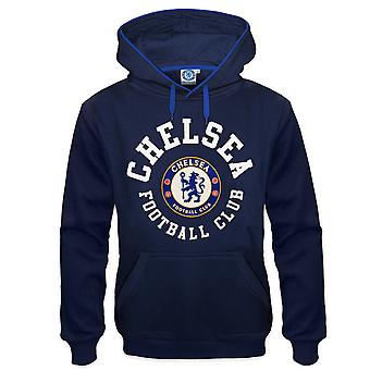 Chelsea FC Mens Hoody Fleece Graphic OFFICIAL Football Gift