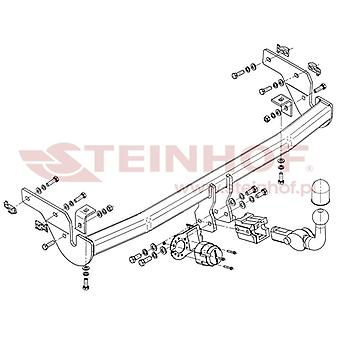 Steinhof Tow Bars And Hitches for C3 Picasso 2009-2013