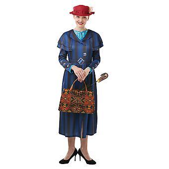 Aankleden Mary Poppins vrouw