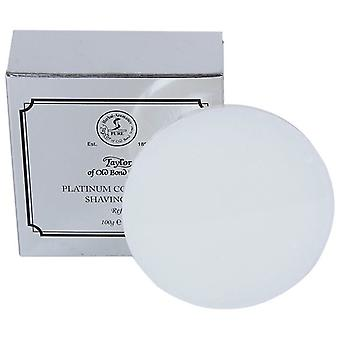 Taylor Of Old Bond Street Shaving Soap Refill 100g Platinum Collection