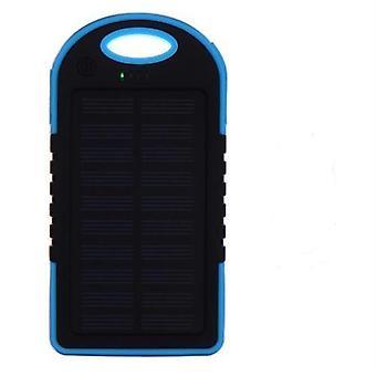 Powerbank con celdas solares 5000 mAh - cargador fotovoltaico