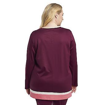 Rösch 1194558-16539 Naisten&apo;s Käyrä Viini Punainen Puuvilla Pyjama